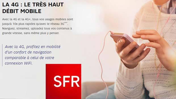La 4G de SFR