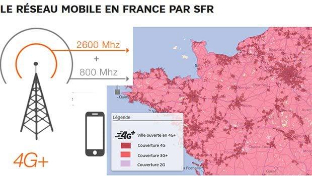 La 4G dans l'ouest par SFR