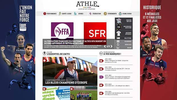 La Fédération Française d'Athlétisme