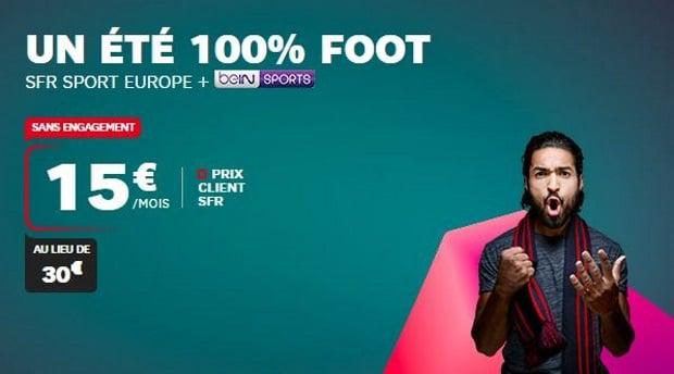 RMC Sport + BeIN Sports en promo
