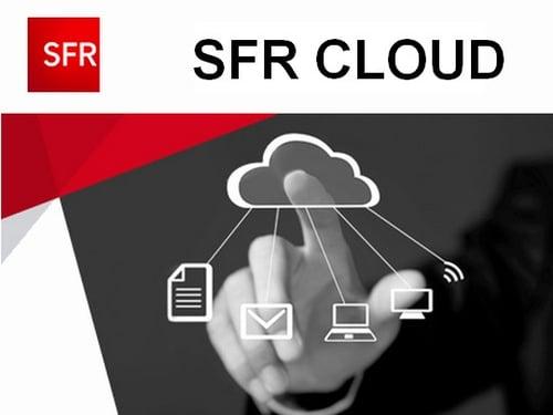 SFR est le seul opérateur à intégrer un service de cloud dans ses offres internet