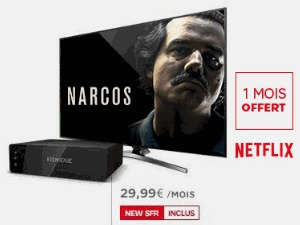 SFR propose Netflix sur SFR TV