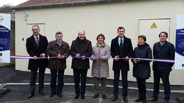 Inauguration de la fibre au Val Drouette