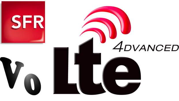 SFR : Voice over LTE, LTE Advanced…