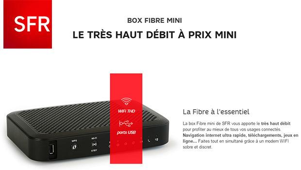 La Box Fibre Mini SFR