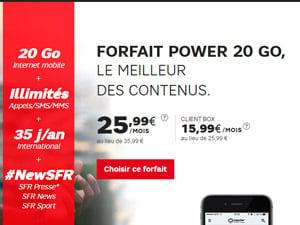 sfr power 20go