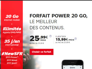 sfr power 20go