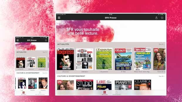 20 SFR Presse unes de magazines