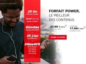SFR : musique en streaming avec Napster