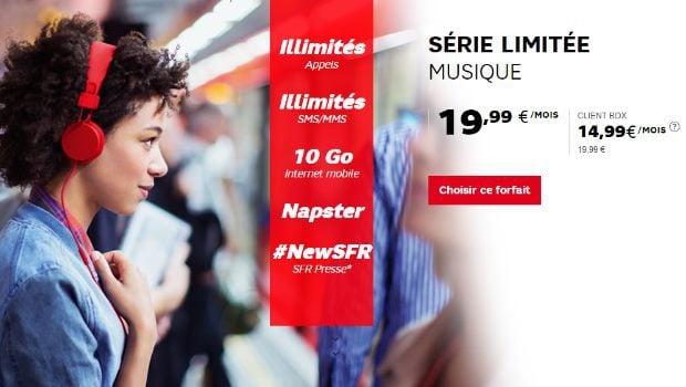 SFR SL Musique Illimitée