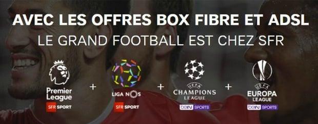 SFR : série limitée box power avec SFR Sport et BeIN Sports