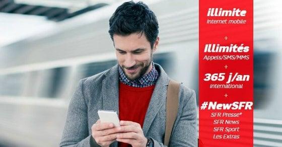 SFR : internet mobile illimité