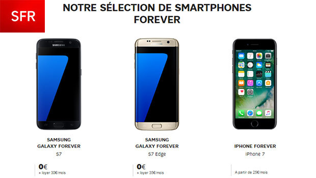 Galaxy S7, S7 Edge et bientôt iPhone 7