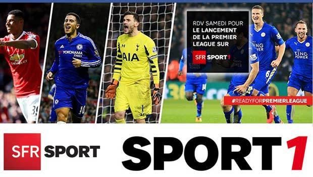 SFR Sport4K en fibre'