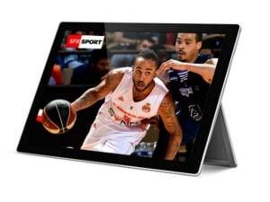 SFR Sport  : les coupes européens de basket en exclu