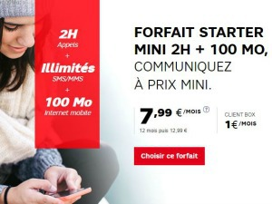 SFR : forfait ado à partir de 1 euro/mois