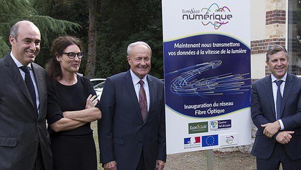 De gauche à droite : Albéric de Montgolfier, Jacques Lemare, Harold Huwart, Antoine Darodes et Isabelle Simon