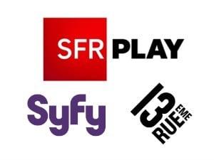 Syfy et 13e rue dans les abonnements SFR ftth et adsl