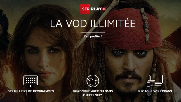 SFR Play VOD : accessible à tous