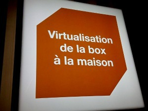 Orange : virtualisation de la box à domicile