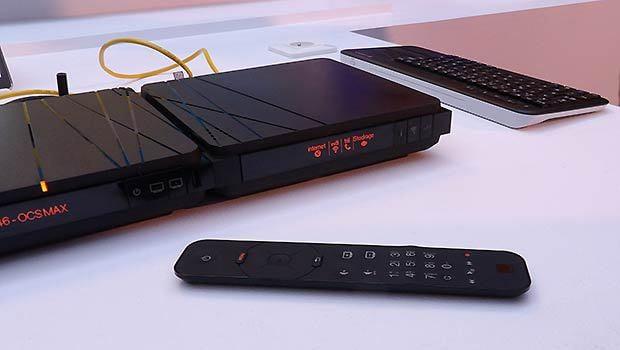 Une télécommande plus conviviale, potentiellement, clavier et souris en appoint