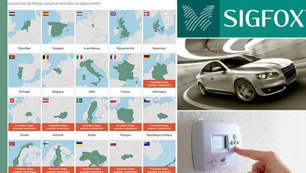 SigFox, se déploie plus à l'international qu'en France