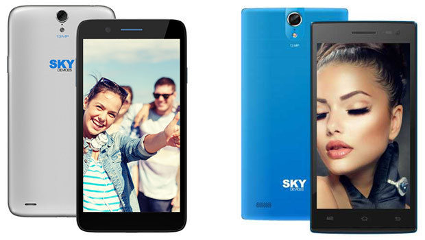 Des smartphones Sky Devices polyvalents