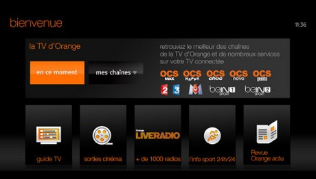 La TV d'Orange sur les TV Samsung