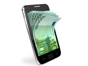 Forfait avec mobile, paiement à crédit