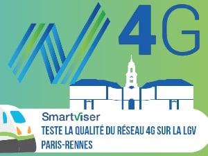 La 4G sur la LGV Rennes-Paris