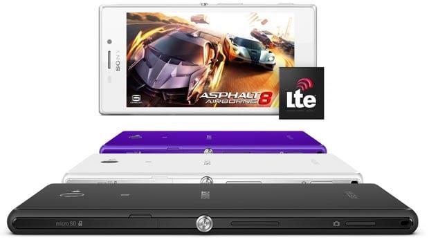 Sony Xperia M2… blanc, violet ou noir
