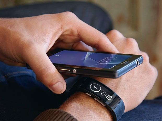 Synchronisation par NFC ou Bluetooth