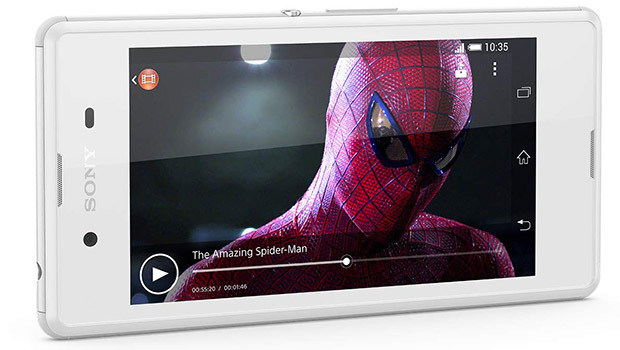Sony Xperia E3, compact et design