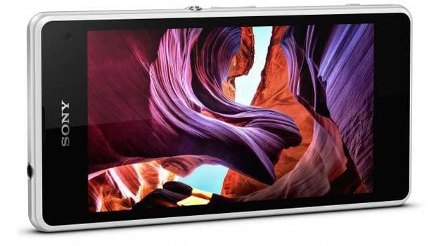 Sony Xperia Z1 Compact, résistant à la poussière et à l'eau 'IP58)