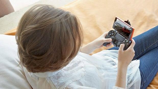 Xperia Z3 et jeux vidéo sur PS4