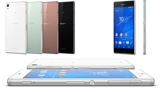 Sony Xperia Z3, finesse et coloris