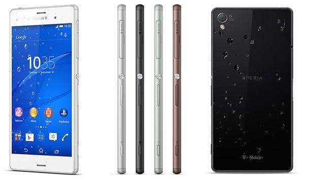 Sony Xperia  Z3, puissance et autonomie