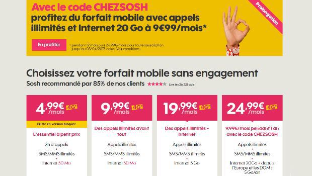 Sosh mobile