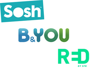 Sosh B&You Red by SFR