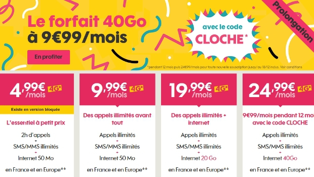 Promotions chez Sosh Mobile + Livebox