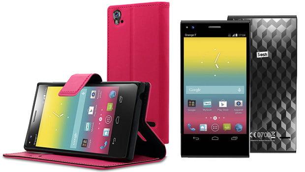 Soshphone, des accessoires déjà disponibles