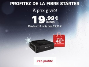 Offre Internet SFR Altice Starter en promo