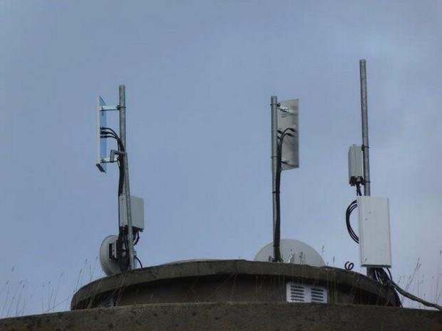 Internet via le hertzien chez Ozone'