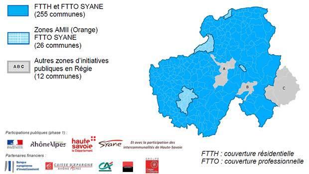 La fibre optique opérée par Tutor en Haute-Savoie