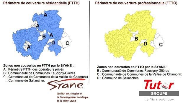 La fibre pour les particuliers FTTH et pour les pros FTTO en Haute-Savoie