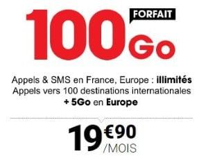 Forfait data à 20€ chez Syma mobile