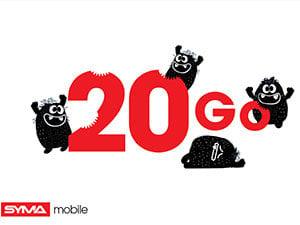 SYMA Mobile 20Go de Noël