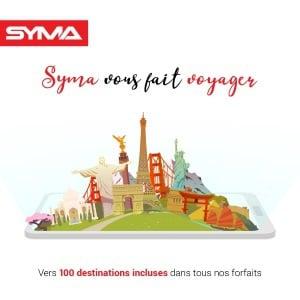 Forfait pour appeler à l'étranger : Syma