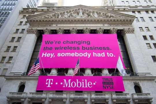 T-Mobile USA mis en vente par Deutsche Telekom