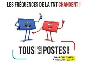 L'ANFR communique sur les nouvelles fréquences TNT